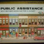Picture of Public Assistance Anti-Welfare Board Game box