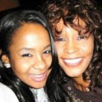 Picture of Whitney Houston, and daughter Bobbi Kristina