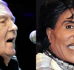 Photo - Jerry Lee Lewis and Little Richard