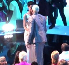 Photo of Rihanna Kissing Chris Brown