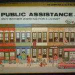 Picture of Public Assistance Anti-Welfare Board Game box