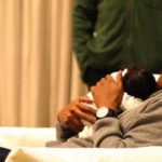 Photo of Jay-Z holding baby daughter Blue Ivy Carter